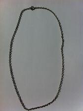 ancienne chaine en argent massif 60 cm 8 Grs poinçon sanglier
