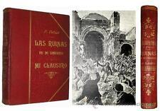 1899 - LAS RUINAS DE MI CONVENTO - Matanza de frailes de 1835 - ILUSTRADO