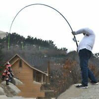 Carbon Fiber Fishing Rod Pole 2.1~3.6m Casting Spinning Telescopic Saltwater US