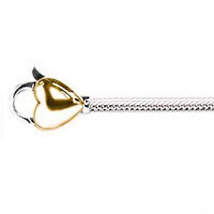 Genuine Lovelinks Gold Heart Clasp Bracelet 19cm - 1110245-19k  RRP £189.00!