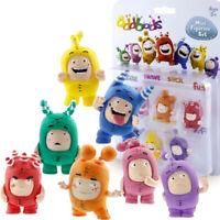 ODDBODS Mini Figurine Set, 7 pc., Chuddiki, Cartoon Character