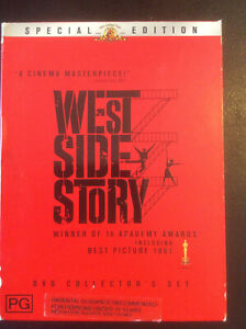 West Side Story DVD 2-Disc,Inc Book Collectors Set R4 RARE