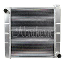 "209632 Northern Aluminum Race Pro 2-Row GM Ford Chrysler Radiator 19"" x 20"""
