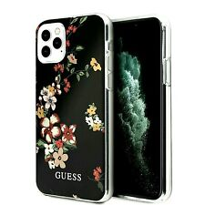 COVER  CUSTODIA ORIGINALE  GUESS  PER IPHONE 11 PRO  CON DISEGNI COLORATI