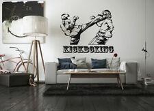 Wall Sticker Room Decal kickboxing box sport kick fight freestyle nursery bo3141