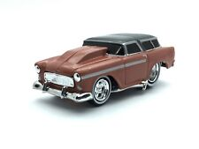 The Original Muscle Machines 1955 55 Chevy Nomad Wagon Die Cast 1/64 Scale Loose