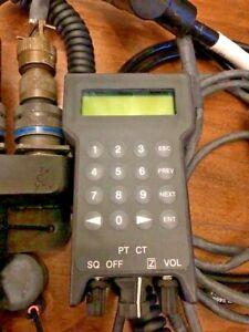 Radio Raytheon MXF-270 (V)1 Portable Remote Control Device w/ Cables