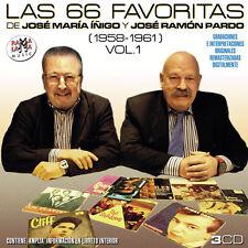 LAS 66 FAVORITAS DE JOSE MARIA IÑIGO Y JOSE RAMON PARDO VOL.1 1958-1961-3CD