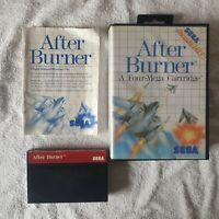 AFTER BURNER (SEGA MASTER SYSTEM)