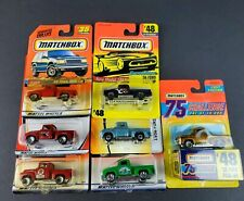 Matchbox 56 Ford Pickup TRUCK 1956 Lot of 7 PICK UP TEXACO PRODUCE RED GOLD NEW