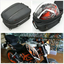 Universal Motorcycle Backseat Tail Bag Helmet Bag Luggage With Waterproof Cover