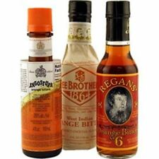 The Orange Cocktail Bitters Collection - 3 Bottles