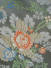 """antique french silk brocade 18th c style - 51"""" X 45"""""""