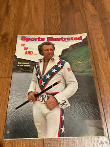 1974 Sports Illustrated Evel Knievel No Label