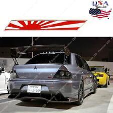 JDM Japan Rising Sun Flag Emblem Plate Badge For Front Grille Side Fender Trunk