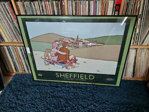 """PETE MCKEE """" SHEFFIELD """" RARE 2015 PRINT POSTER - LOVELY!"""