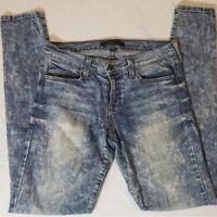 Flying Monkey Acid Wash Skinny Jeans