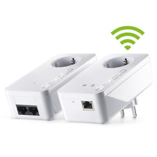 devolo dLAN 550+ WiFi Starter Kit (500Mbit, 2er Kit, Powerline + WLAN, 1x LAN)