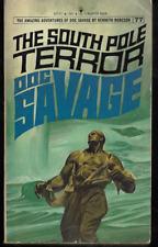 DOC SAVAGE #77 South Pole Terror Kenneth Robeson Lester Dent '74 Pfeiffer Bantam