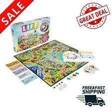 The Game of Life Fun Family Board Game 2 to 4 Players for Ages 8 and above