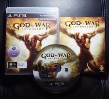 God of War Ascension (Sony PlayStation 3, 2013) PS3 - FREE POST