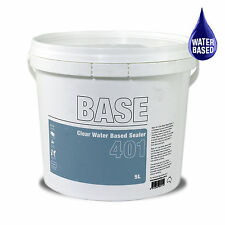 Clear Water Based Sealer 5L hardwearing & clear for masonry, concrete and timber