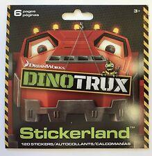 120 Dreamworks Dinotrux Dinosaur Stickers  Party Favors Teacher Supply Trucks