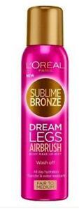 ** REDUCED**Loreal Sublime Bronze Dream Legs airbrush Tan - 150ml Fair to Medium