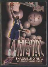 1999-00 SKYBOX METAL HEAVY METAL SHAQUILLE O'NEAL