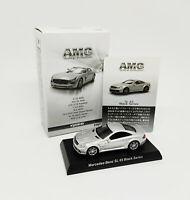 KYOSHO 1:64 - AMG Minicar Collection Mercedes Benz SL 65 Black Series Plateado