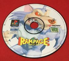 Rampage World Tour (Disc Only) - PlayStation 1 - PS1 - PAL - TESTED