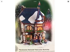 Rare Dept 56 Nussknacker Werkstatt Nutcracker Workshop Alpine Village.
