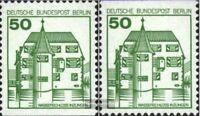 Berlin (West) 615C-615D (kompl.Ausg.) postfrisch 1980 Burgen und Schlösser