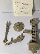 MOTU He-Man Vintage Castle Grayskull Weapons Parts Lot authentic Original Nice?