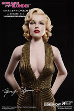Star Ace Toys Marilyn Monroe as Lorelei Lee Gold Dress Sixth Scale Figure New