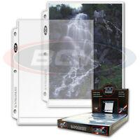 25 1 pocket sheets 8 X 10 8x10 Photo Album Binder Pages