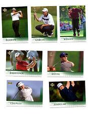 2001 Upper Deck Golf Complete Set 1-200 Tiger Woods RC
