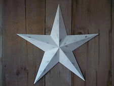 "Metal Star 10"" Painted Rustic White"