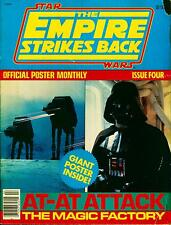 "Star Wars Giant Poster Monthly #4 The Empire Strikes back ""At-At Attack"" 1980"