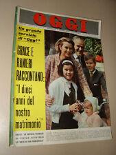 OGGI=1966/16=GRACE KELLY=JACOBUS VAN DYN=NANDO GAZZOLO=ANNA MOFFO=TOTO '=PLACCI