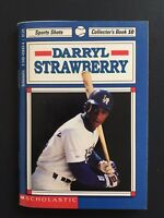 Darryl Strawberry Vintage 1992 Scholastic Sports Shots Collector's Book #10