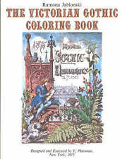 Victorian Gothic Coloring Book by Ramona Jablonski (Paperback, 1981)