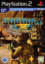 PS2 / Sony Playstation 2 Spiel - SOCOM 2: U.S. Navy SEALs mit OVP