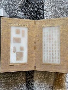 Beautiful Chinese carved white jade plaque poem book qianlong 18/19 Th century