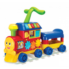 Walker Ride-On Toy Learning Train Boys Girls Child Sound Play Activity Kids New