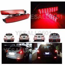 2x LED Rear Bumper Reflector Brake Park Light For Infiniti FX35 FX37 FX50 09-13