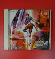 Sega DreamCast CAPCOM VS SNK 2 Millionaire Fighting 2001 Japan DC F/S