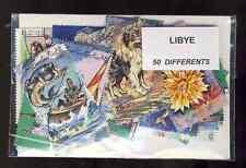 Libye - Libya 50 timbres différents