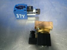 2 Pcs Rexroth R900086685 Solenoid Valve, Smc Vxz2350