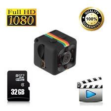Telecamera Mini Spy Action Cam registra video Full HD Sorveglianza Notturna IR